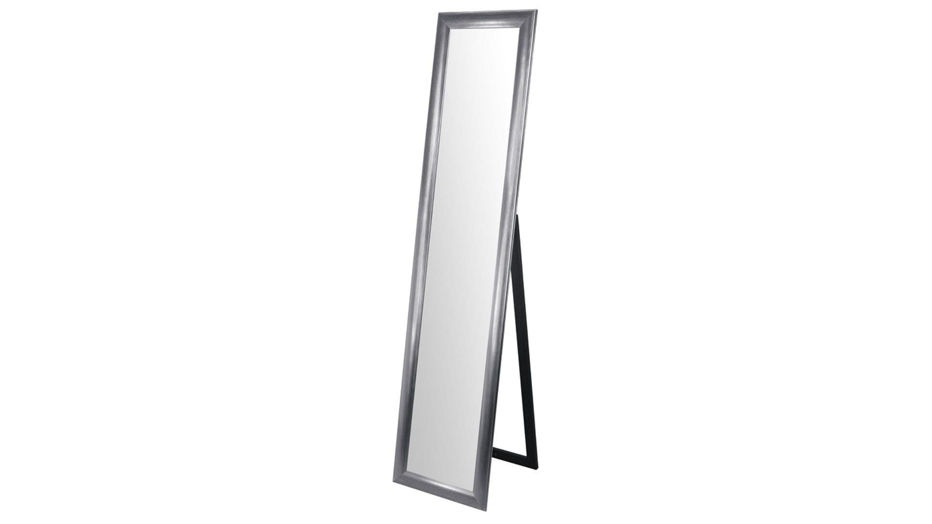 Standspiegel als praktisches Kleinmöbel, silberfarbener ...