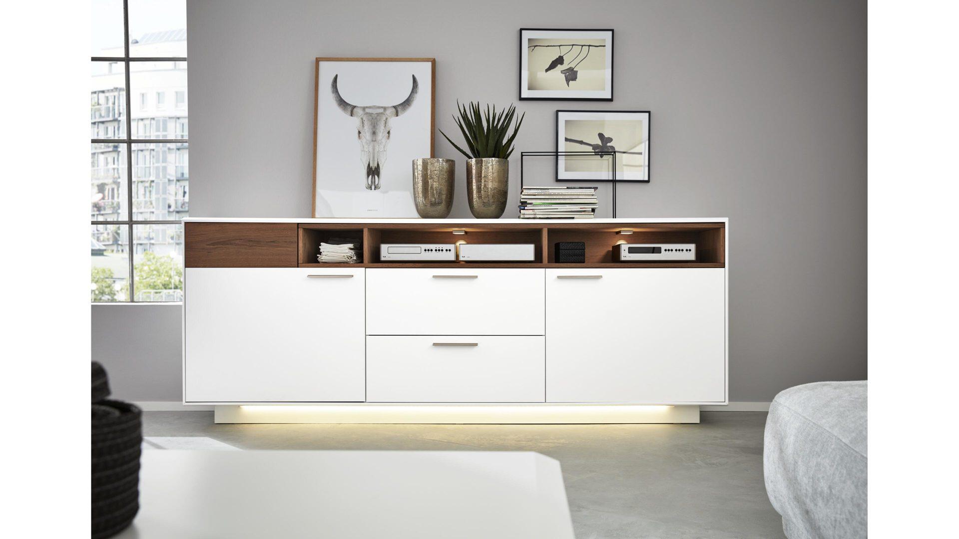 interliving wohnzimmer serie 2102 sideboard