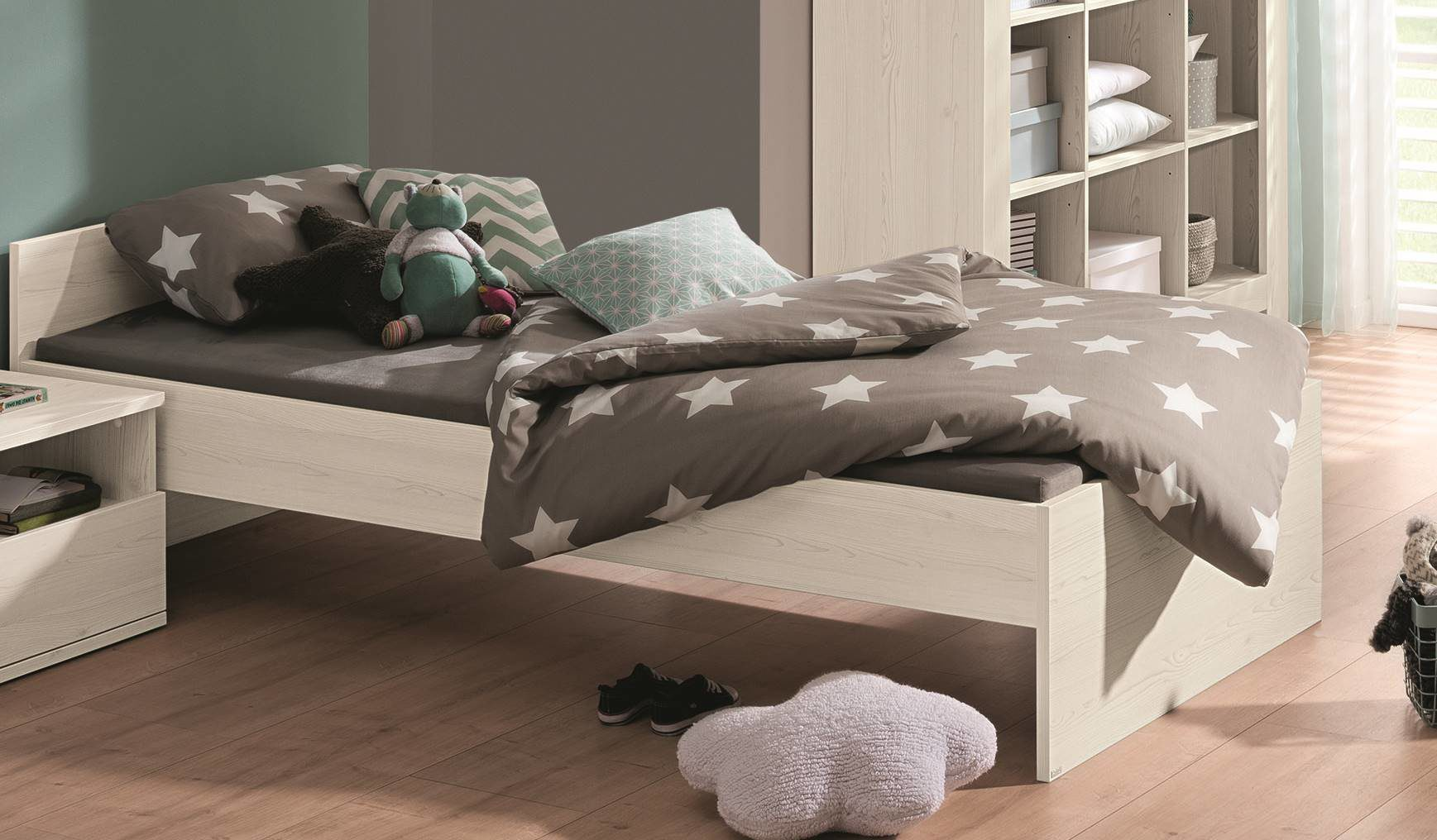 Alle Paidi Produkte Paidi Einzelbett Bettgestell Nachtkommode
